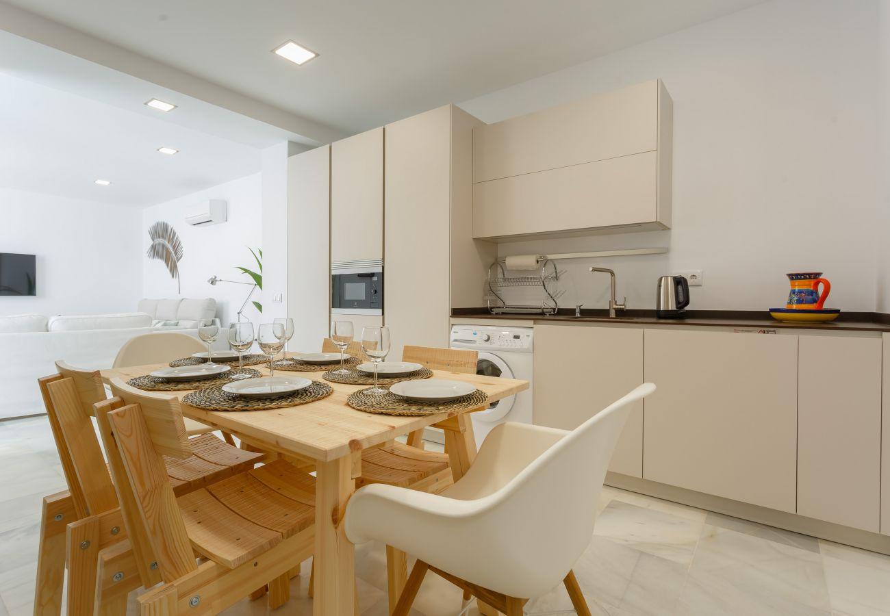 Appartement à Cadix - Appartement avec climatisation à650 mde la plage