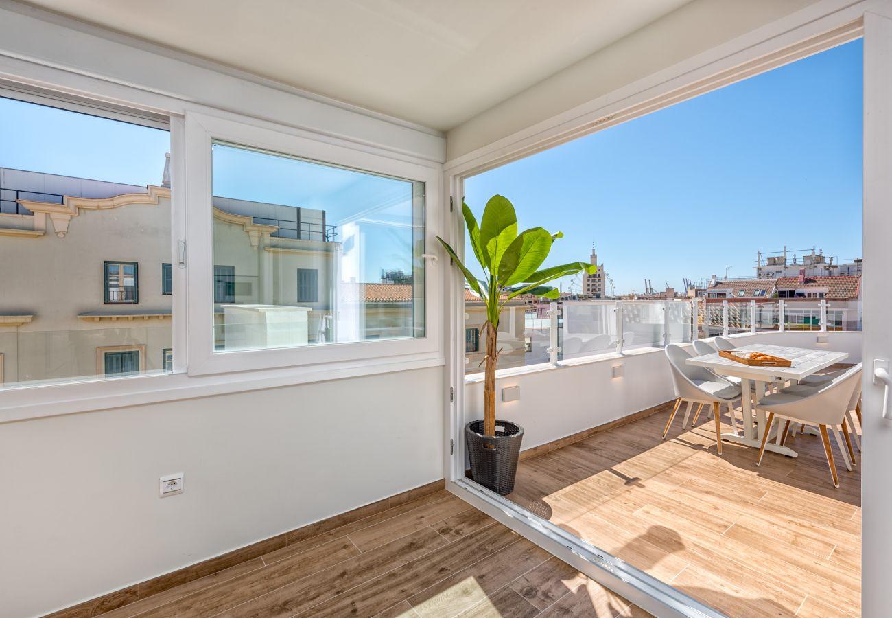 Appartement à Malaga - iloftmalaga Ático Plaza de las Flores