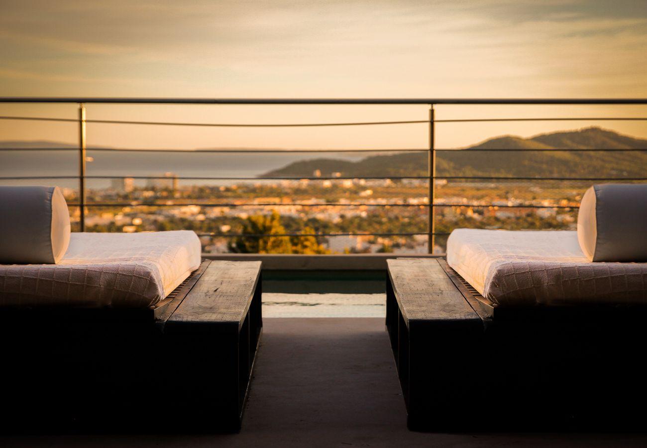 Villa à Ibiza - Villa pour 10 personnes à Ibiza