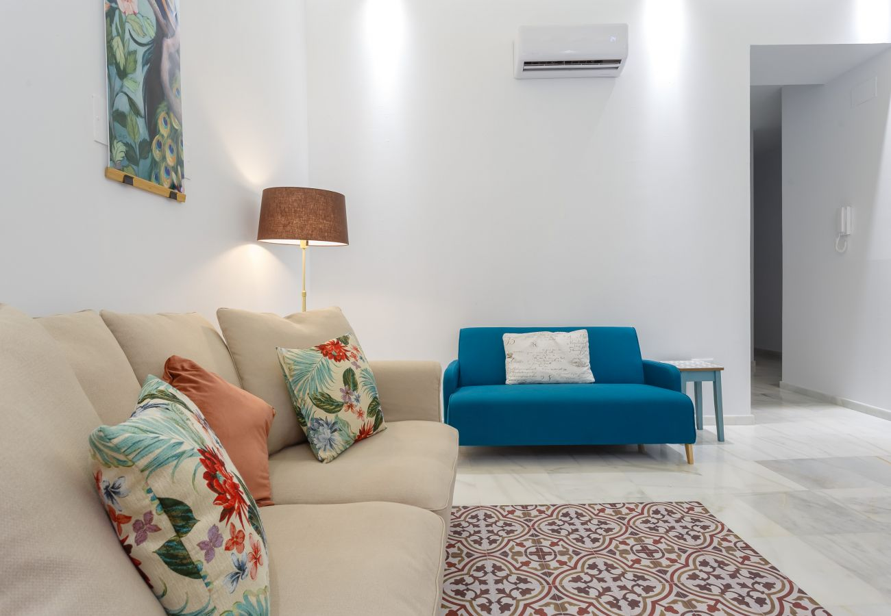 Appartement à Cadix - Appartement avec 2 chambres à650 mde la plage