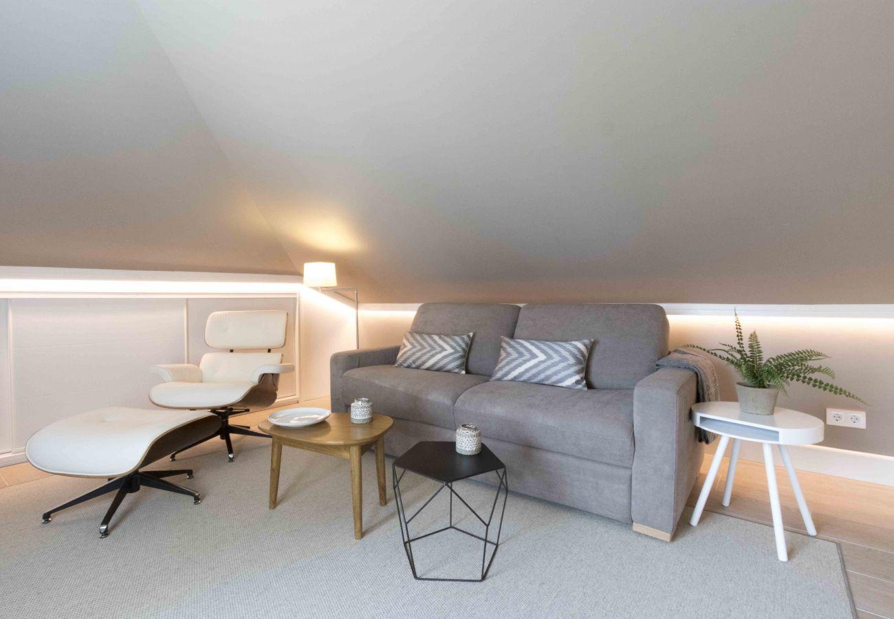 Appartement à San Sebastián - Appartement avec 3 chambres à300 mde la plage