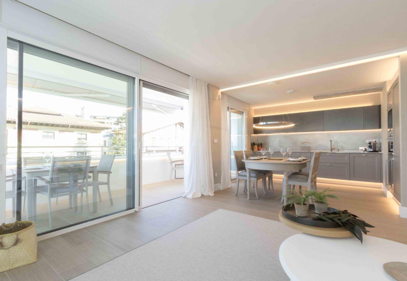 Appartement à San Sebastián - Appartement avec climatisation à300 mde la plage