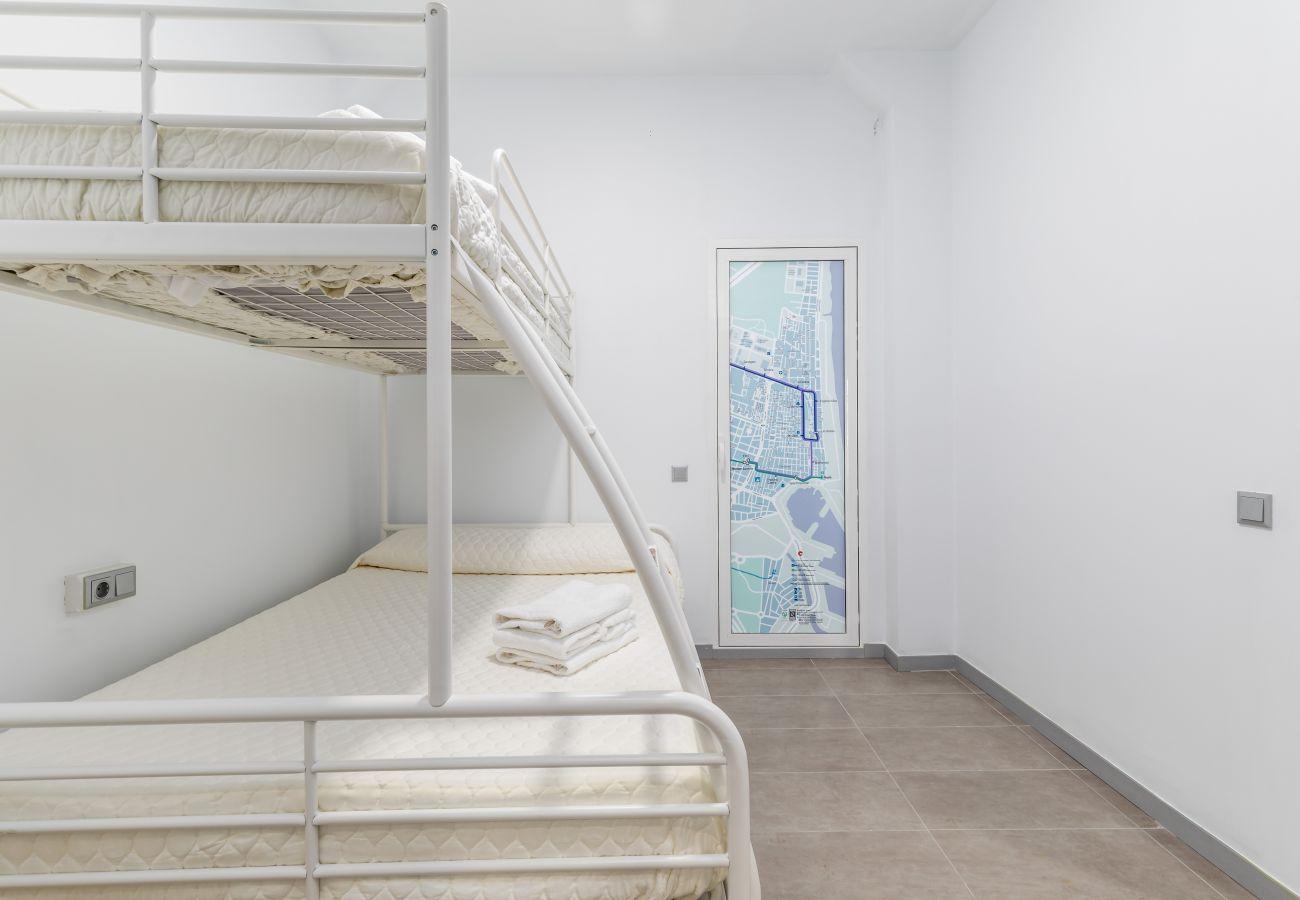 Appartement à Valence / Valencia - TH Maritim 1-1