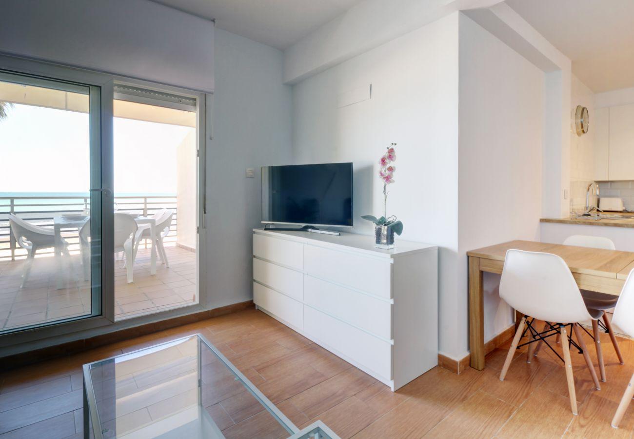 Appartement à Cadix - Appartement avec 3 chambres à5 mde la plage