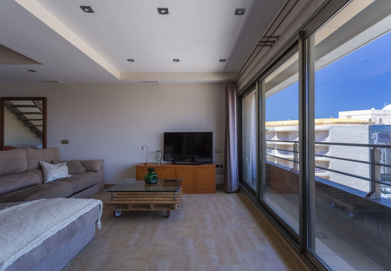 Studio à Cadix - Studio avec climatisation à20 mde la plage