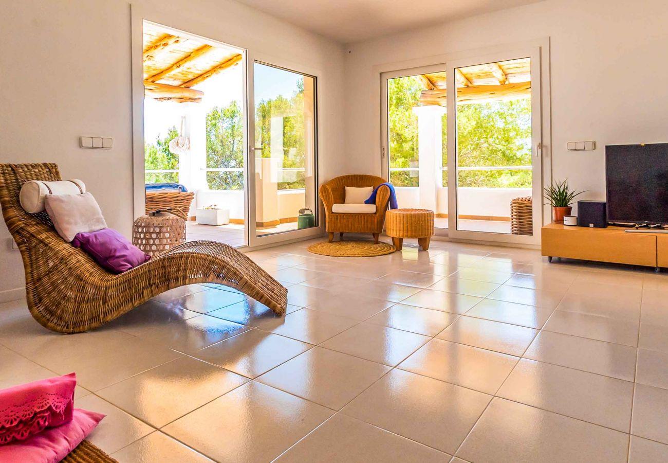 Villa à Ibiza - Villa avec 4 chambres à2 kmde la plage