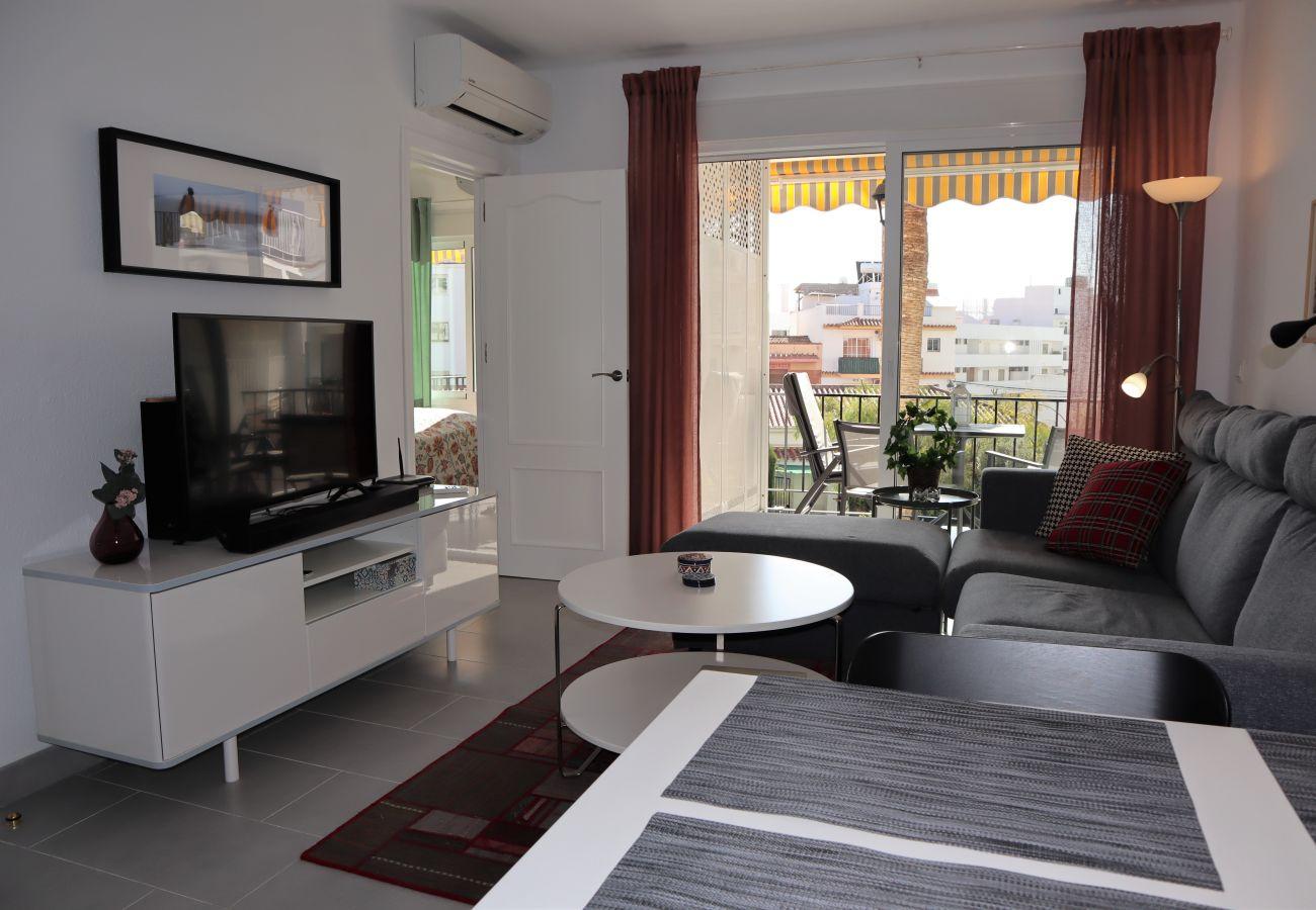 Appartement à Nerja - Appartement avec 2 chambres à250 mde la plage