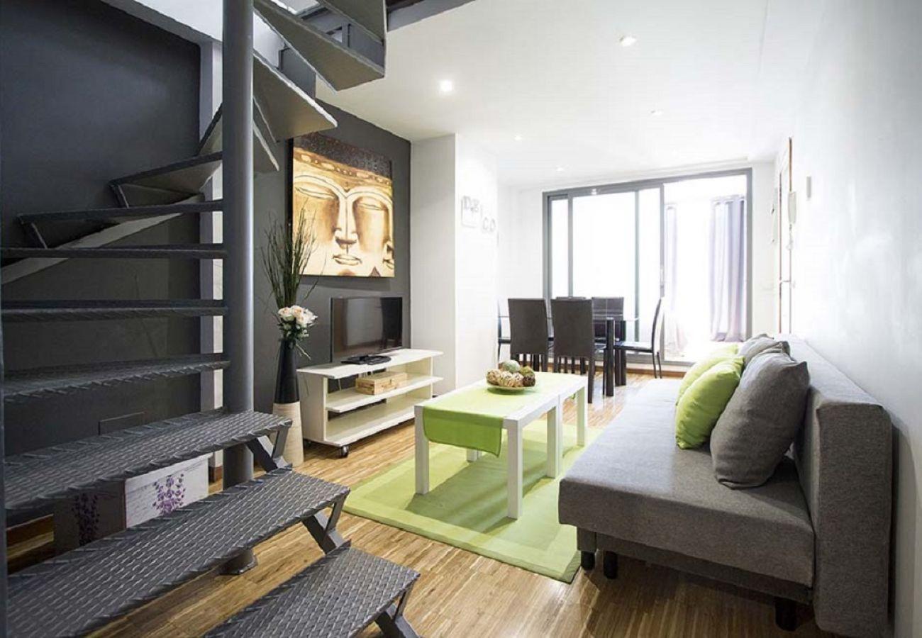 Appartement à Madrid - CENTRO-CHAMBERI-MALASAÑA DUPLEX 2 ROOMS 6 PAX