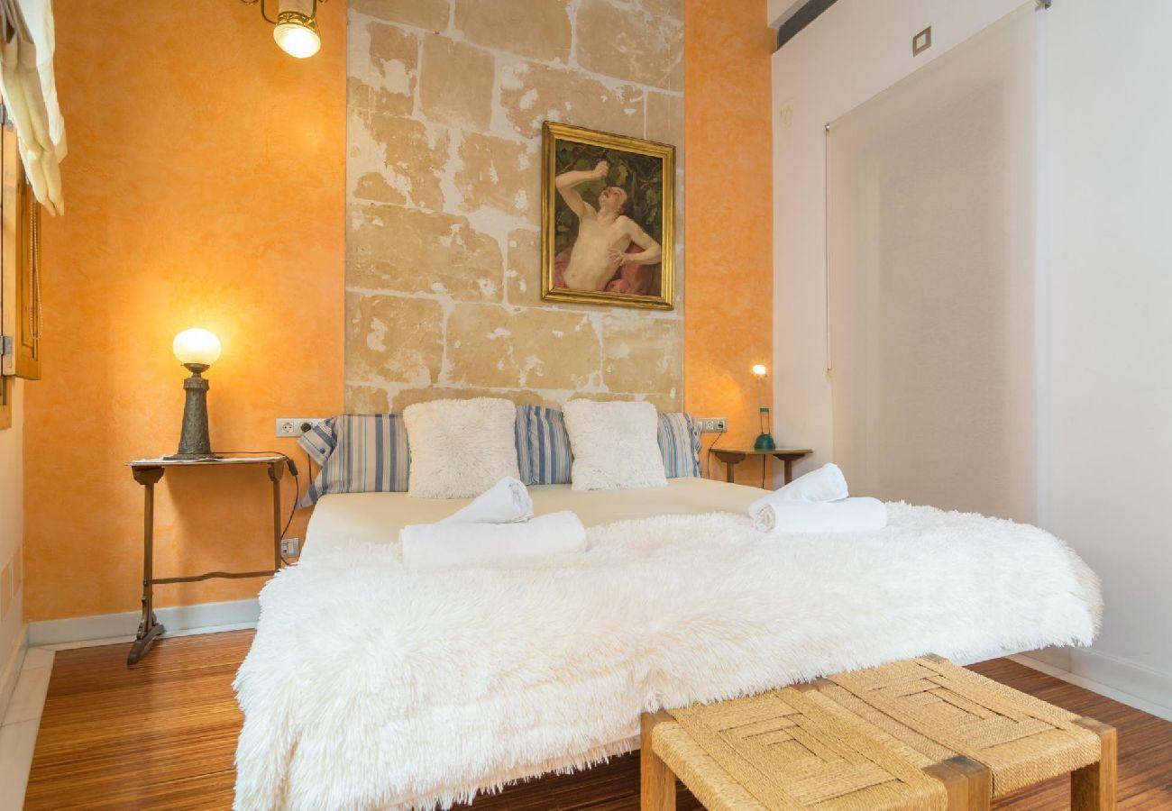 Maison à Majorque/Mallorca - Maison avec climatisation à1 kmde la plage
