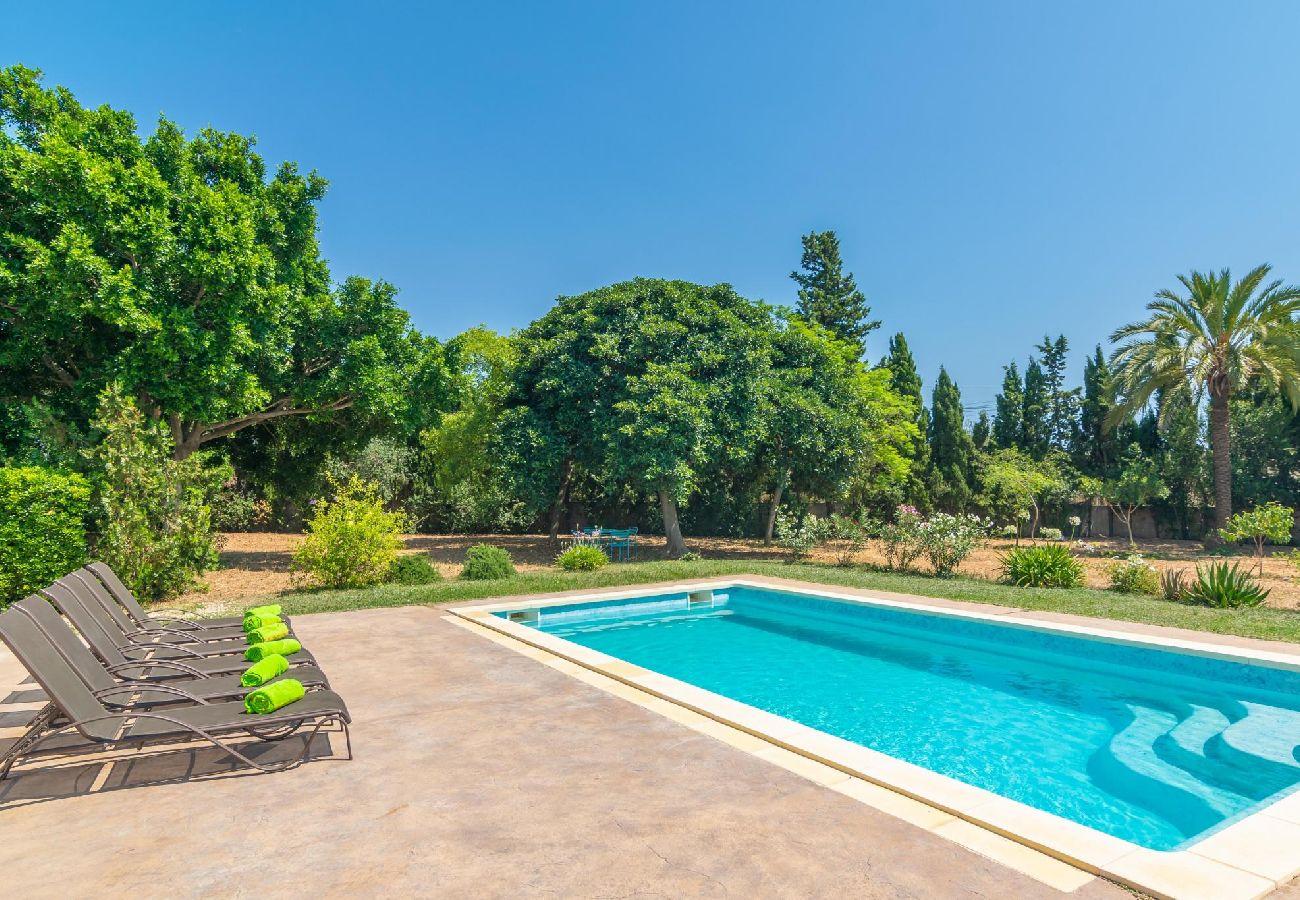 Villa à Majorque/Mallorca - Villa avec 3 chambres à Palma de Mallorca